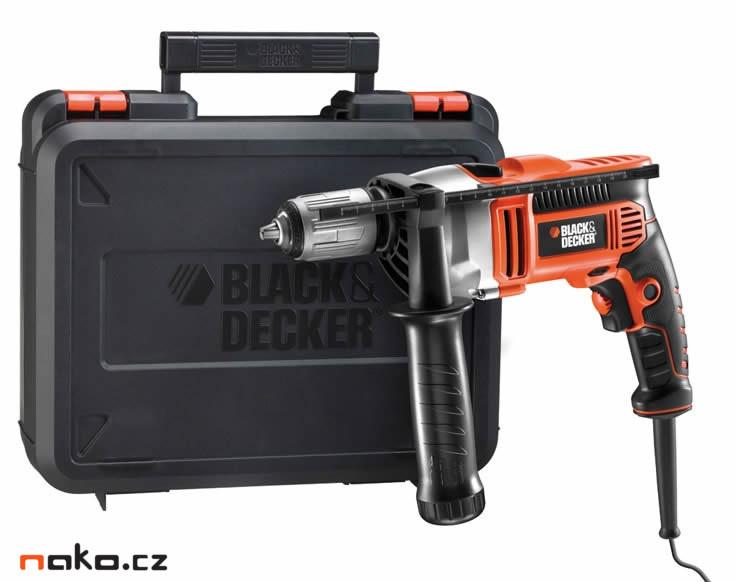 BLACK&DECKER KR806K příklepová vrtačka 850W