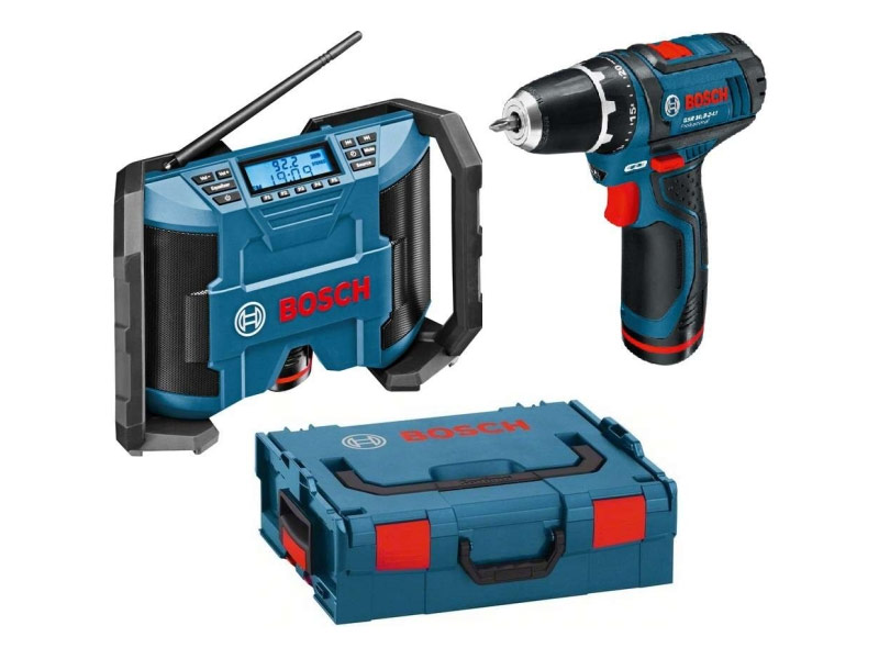 BOSCH GML+GSR 10,8 V-Li 2x2,0Ah L-Box 0601429204