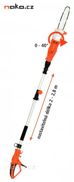 HECHT 971 W elektrická vyvětvovací řetězová pila