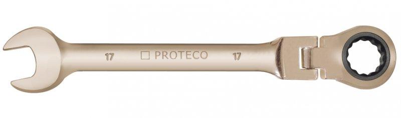 PROTECO sada ráčnových očkoplochých kloubových klíčů 8-19mm 42.18-343-772