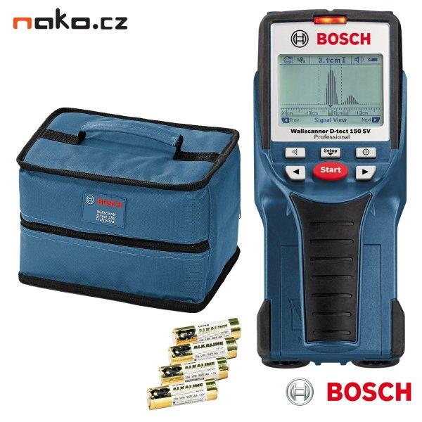 BOSCH D-TECT 150 SV Professional univerzální detektor Wallscanner 0601010008