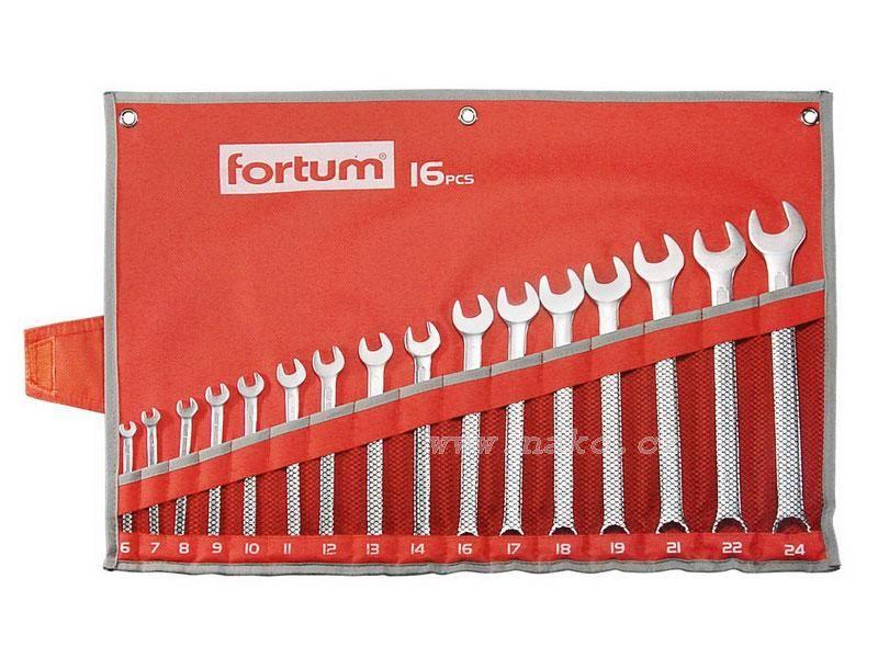 FORTUM 4730201 sada očkoplochých klíčů 6-24mm