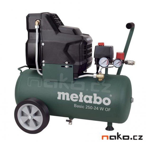 METABO Basic 250-24 W OF kompresor bezolejový 601532000