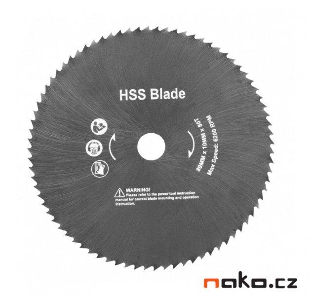 HECHT 001060D pilový kotouč na hliník a plasty 89x10mm HSS pro HECHT 1060, HECHT 1066