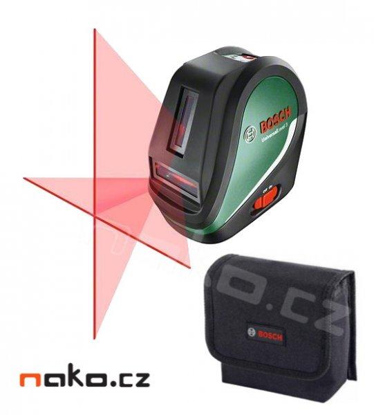 BOSCH UniversalLevel 3 křížový laserový nivelační přístroj 0603663900