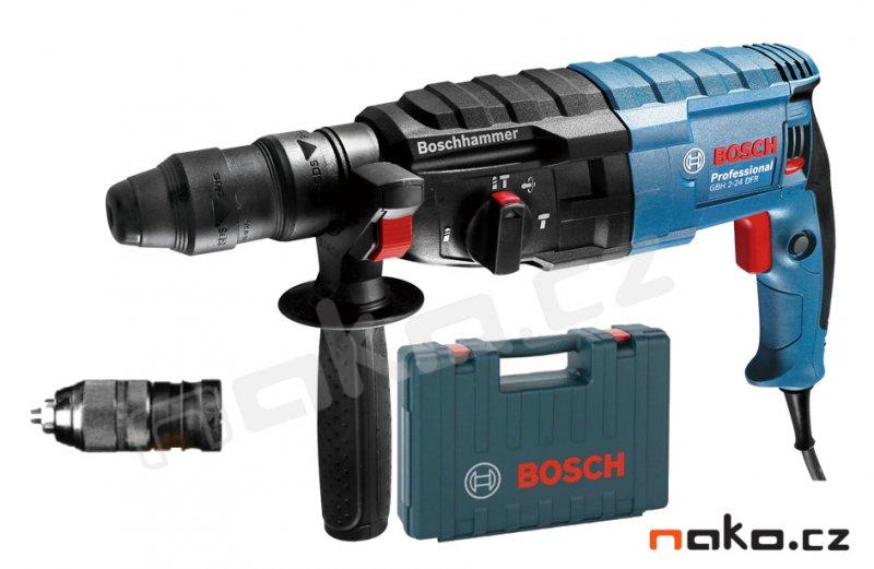 BOSCH GBH 2-24 DFR kombinované kladivo SDSplus, 790W, 0611273000