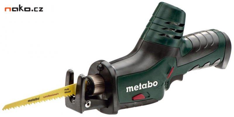 METABO PowerMaxx ASE 10,8 V aku mečová pila ocaska bez baterií 60226489
