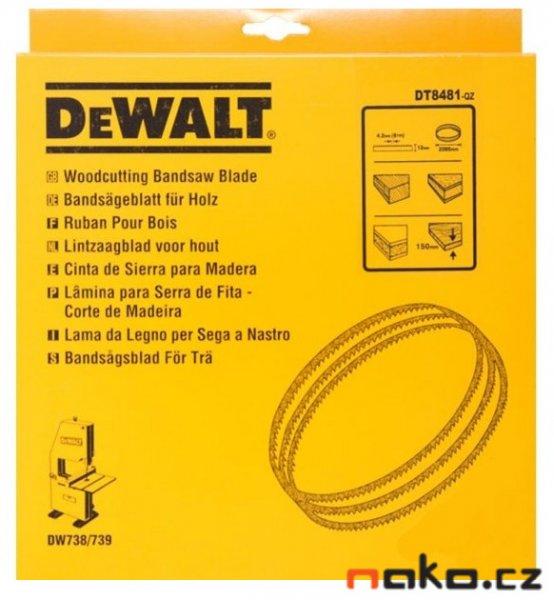 DEWALT DT8481 pilový pás 2095mm pro DW738, DW739