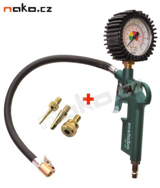 METABO RF 60 pneuhustič s manometrem 602233000