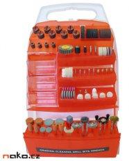 EXTOL CRAFT nástroje pro přímé brusky, sada 150ks, 73412