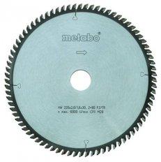 Metabo kotouč pilový 254x2,4/1,8x30 80FZ/TR 5° neg. 6.28223