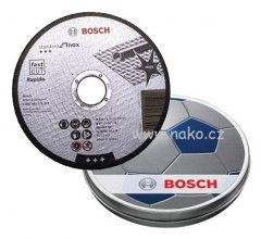 BOSCH 2608601259 sada kotoučů 125x1mm 10 dílů Standart for INOX