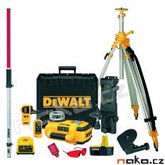 DeWALT DW079PKH samonivelační rotační laser kompletní sada
