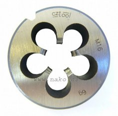 Závitová kruhová čelist 223210 NO M 8x1 /210 081/