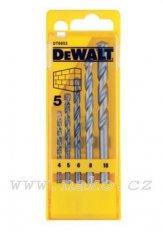 DEWALT DT6952 sada příklepových vrtáků 4,5,6,8,10mm