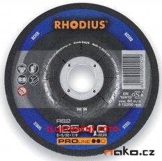 RHODIUS 125x7.0 RS2 PROline brusný kotouč na ocel