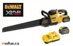 DeWALT DCS397T2 XR FLEXVOLT aku mečová pila Alligator 430mm 54V 2x2...