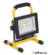 POWERPLUS Light POWLI236 přenosná AKU LED lampa 20W 6Ah LiIon s podstavcem