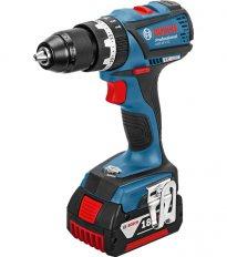 BOSCH GSB 18 V-EC Professional příklepová aku vrtačka, L-Boxx 06019...