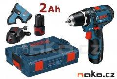 BOSCH GSR 12V-15 Professional aku šroubovák L-Boxx, 2x2Ah, 06018681...