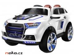 HECHT 51003 dětské akumulátorové autíčko bílé 12V, 7Ah, 2x 35W