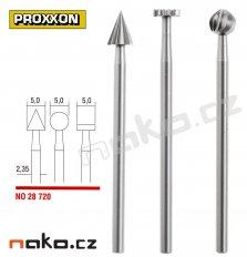 PROXXON 28720 sada stopkových fréz (3ks)
