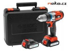 BLACK&DECKER EGBHP146BK aku vrtačka 14,4V 2x1,5Ah Li-Ion