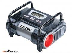 EXTOL PREMIUM CC 140 kompresor do auto 12V s LCD a světlem 6,9 bar ...