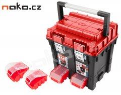 EXTOL PREMIUM 8856083 kufr na nářadí HD, 450x350x450mm