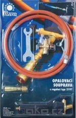 MEVA 2197 opalovací souprava PB kulatý hořák 1,2 kW