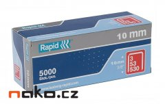 RAPID sponky 53/10mm 5000ks