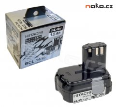 HITACHI BCL 1415 baterie 14,4V/1,5Ah Li-ion 327-729 ORIGINÁL