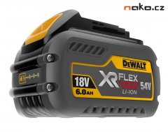 DeWALT DCB546 akumulátor XR FLEXVOLT 18/54V 2.0/6.0Ah LiIon - ORIGI...