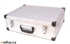 Kufr hliníkový 460x330x150mm stříbrná barva