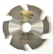 MAKITA 793382-4 štěrbinová fréza 100x22mm B-12924