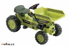Dětský šlapací traktorový vyklápěč YIPPEE