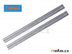 NAREX nože TK otočné hoblovací 82mm (1pár) 638095