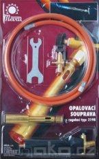 MEVA 2198 opalovací souprava PB kulatý hořák 3,5 kW