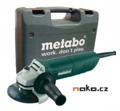 Metabo W 720-125 úhlová bruska v kufru
