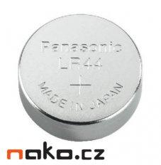 Baterie Panasonic LR44 1,5V do měřidel