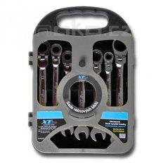 XTline sada ráčnových očkoplochých kloubových klíčů 10-19mm KL34570...