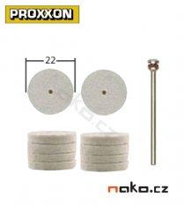 PROXXON 28798 plstěné kotoučky 22x4mm (10ks)