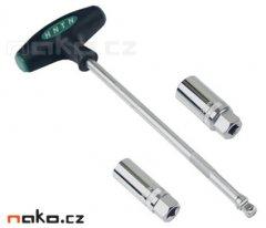 HONITON H022 sada klíčů na svíčky 16 a 21mm s T rukojetí