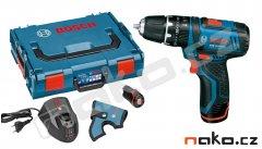 Bosch GSB 10,8-2-LI Professional 2Ah aku příklepový šroubovák 06019B6906, L-Boxx