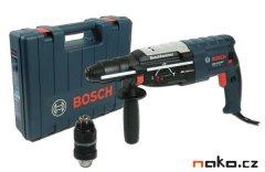 BOSCH GBH 2-28 DfV Professional, s výměnným sklíčidlem modré
