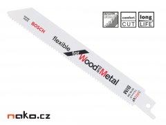 BOSCH pilový list 150x1,8/2,6mm S922VF BIM do ocasky, dřevo a ocel ...