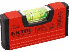 EXTOL PREMIUM kapesní vodováha 100mm 8823891