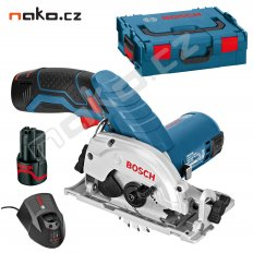 BOSCH GKS 10,8 V-Li Professional 2x2Ah Li-Ion L-Boxx aku okružní pi...