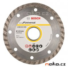BOSCH diamantový řezací kotouč Eco for Universal TURBO 115x22mm 2608615036