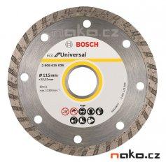 BOSCH diamantový řezací kotouč Eco for Universal TURBO 115x22mm 2608615036
